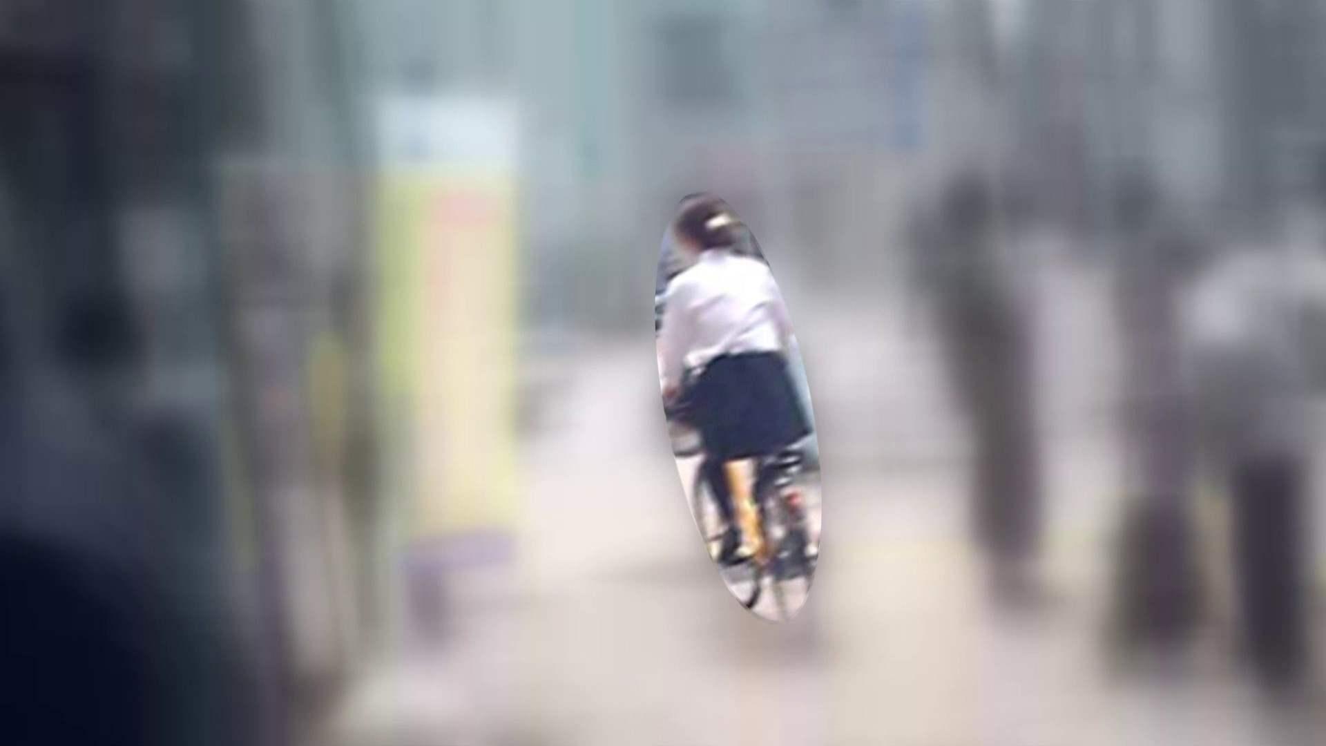 自転車パンチラ Vol.05 パンチラ | ムチムチおしり  98PIX