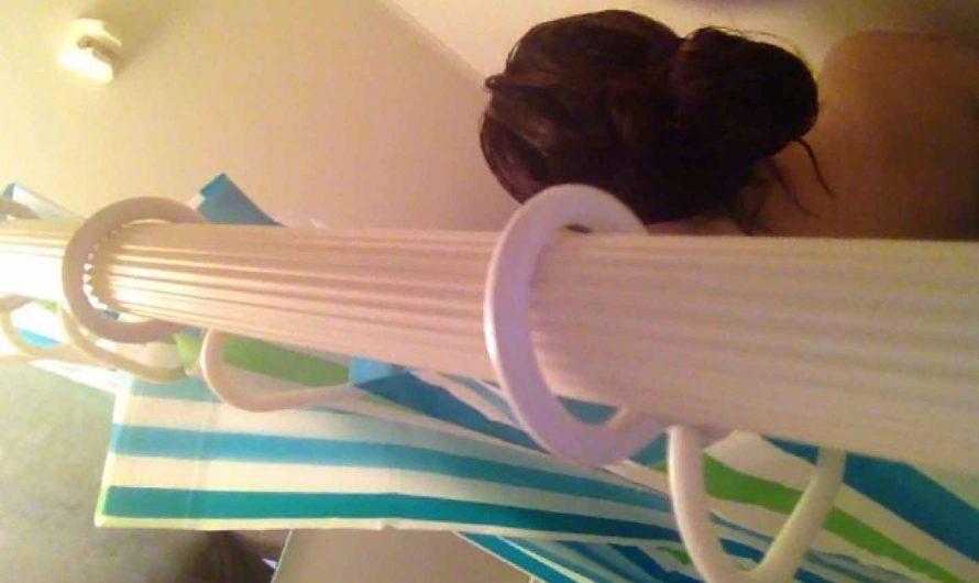 11(11日目)上からシャワー中の彼女を覗き見 覗き特集 | シャワー  60PIX
